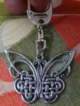 Butterfly Key Ring Fob